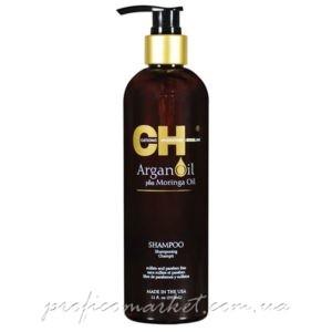 CHI Argan Oil Shampoo Восстанавливающий шампунь c аргановым маслом