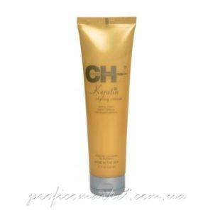 CHI Keratin Styling Cream Крем для укладки с кератином для поврежденных ломких волос