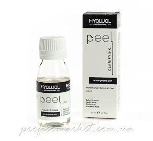 Hyalual Clarifying Peel Пилинг для жирной, комбинированной и склонной к акне кожи.