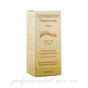 Coverderm Peptumax Yeux Cream-gel крем-гель для нежной кожи вокруг глаз