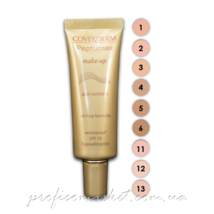 Coverderm Peptumax Make-up SPF15