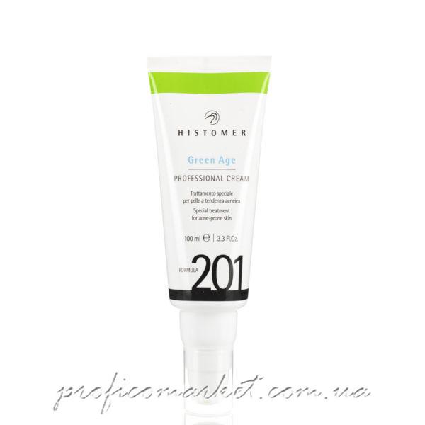 HISTOMER Formula 201 Green Age Professional Cream - Профессиональный финишный крем для проблемной кожи SPF-12