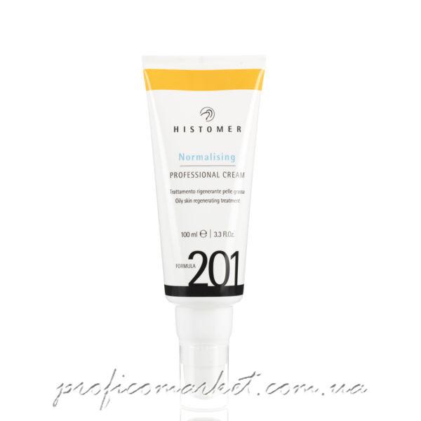 Histomer Formula 201 Normalising Professional Cream SPF 12 - Профессиональный финишный нормализующий крем для жирной кожи SPF 12