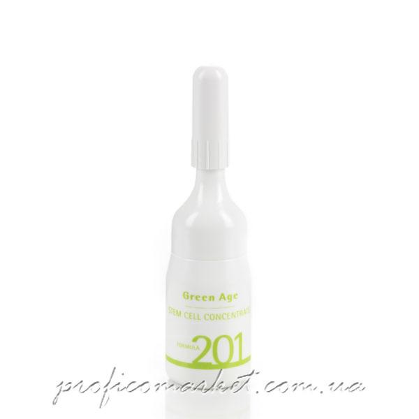 Histomer Formula 201 Green Age Stem Cells - Концентрат стволовых клеток нормализующий для проблемной кожи