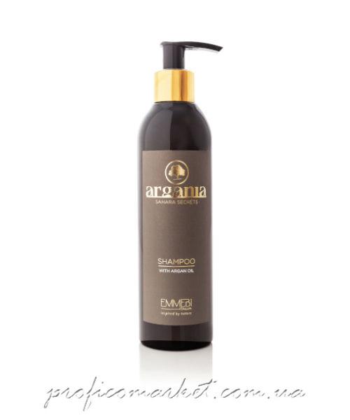 Emmebi Argania Sahara Secrets shampoo Шампунь с аргановым маслом Секреты Сахары