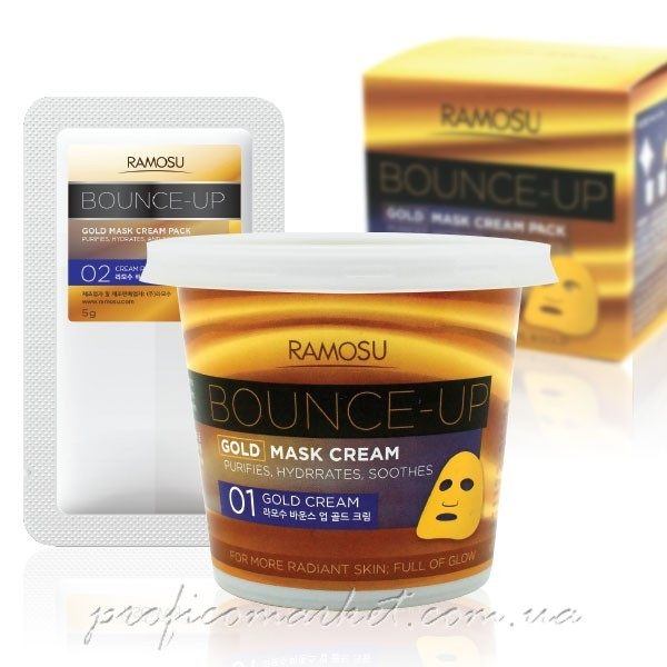Ramosu Bounce-up Gold Mask Cream