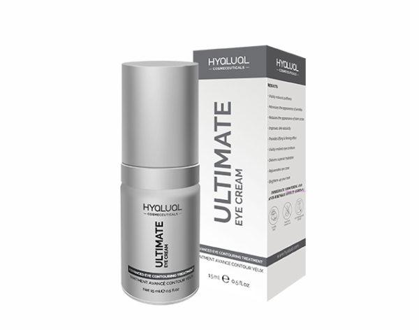 Hyalual Ultimate Eye Cream Корректирующий крем для области вокруг глаз