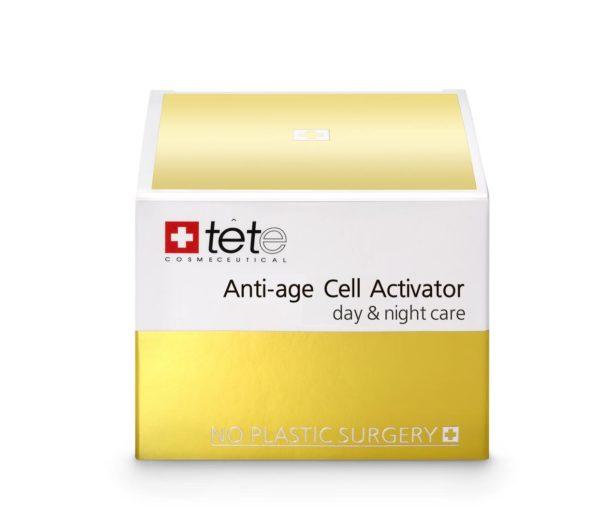 TETe Cosmeceutical Anti-age Cell Activator (day and night) Омолаживающий крем для лица