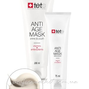TETe Cosmeceutical Anti-age Mask Vitamins and Antioxydants Омолаживающая маска с витаминами и антиоксидантами Отбеливающее действие