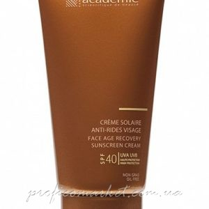 Academie Bronzecran Face Age Recovery Sunscreen Cream SPF40+ Солнцезащитный регенерирующий крем для лица