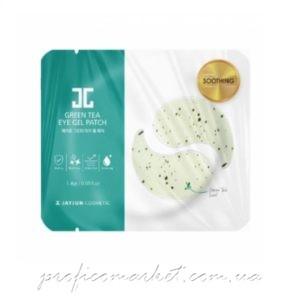 Гидрогелевые патчи для глаз c зеленым чаем Jayjun Green Tea Individual