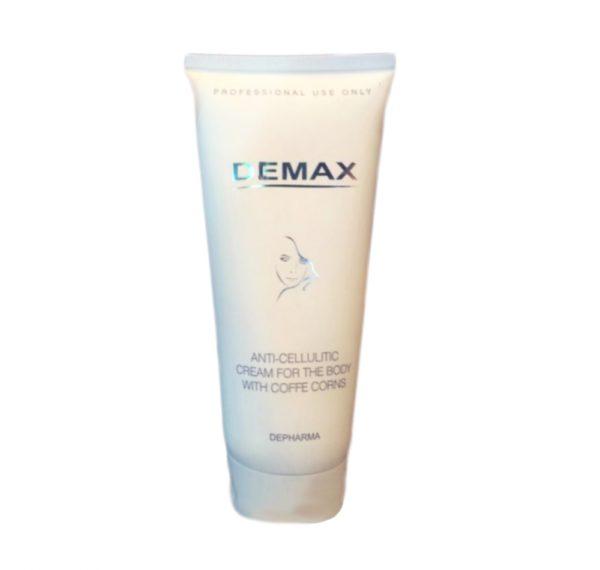 Антицеллюлитный крем для тела с экстрактом кофейных зерен Demax Anti-cellulitic cream for the body with coffe corns