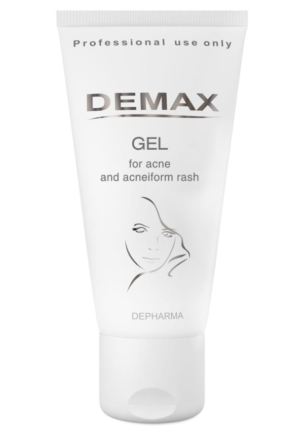 Активный себорегулирующий гель Demax Gel For Acne and Acneiform Rash