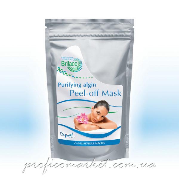 Альгинатная маска очищающая противовоспалительная Brilace Purifying algin peel-off mask