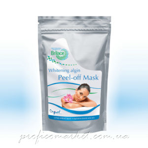 Альгинатная маска осветляющая Brilace Whitening algin peel-off mask