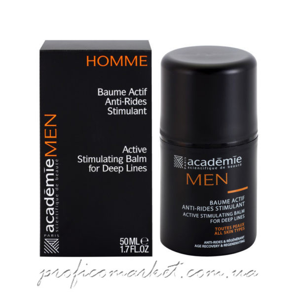 Активный стимулирующий восстанавливающий бальзам от морщин для мужчин Academie BALM FOR DEEP LINES