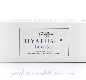 Препарат для курсовой процедуры Редермализации Hyalual Booster 2.2%  1мл