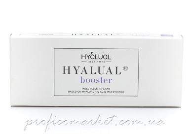 Hyalual Booster 2.2% препарат для курсовой процедуры Редермализации