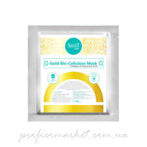 Коллагеновая маска для лица SPANI Gold Bio-Cellulose Mask + Collagen & Hyaluronic Acid