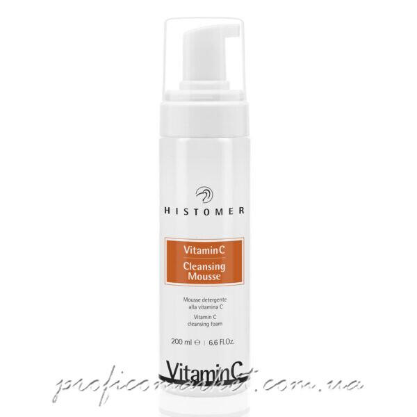 Профессиональный Очищающий мусс Histomer Vitamin C CLEANSING MOUSSE