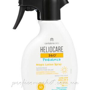 Солнцезащитный лосьон-спрей для детей для атопической кожи SPF 50 CANTABRIA LABS HELIOCARE 360 Pediatrics Atopic Lotion Spray SPF50
