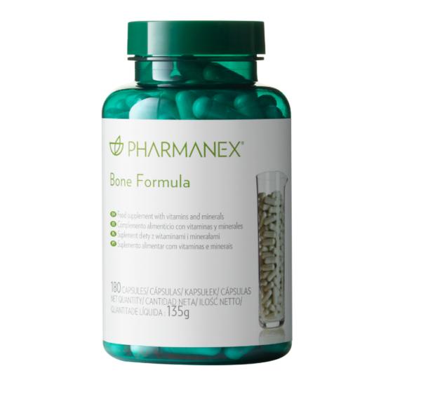 Пищевая добавка для здоровья костей Pharmanex Bone Formula Nu Skin, 180капсул
