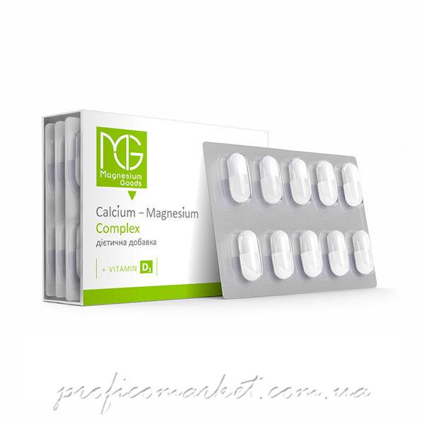 Диетическая добавка Кальций + Магний + Витамин Д SPANI Magnezium Goods