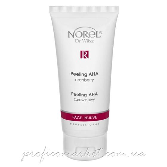 Клюквенный пилинг с АНА кислотами Norel Face Rejuve Peeling AHA cranberry