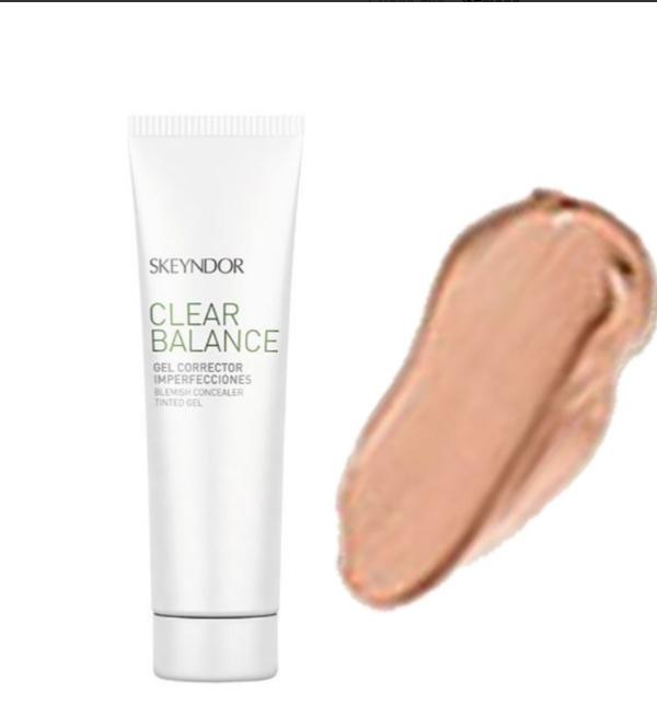 Тонирующий крем-гель от покраснений для светлой кожи Skeyndor Clear BALANCE Blemish Concealer Tinted Gel
