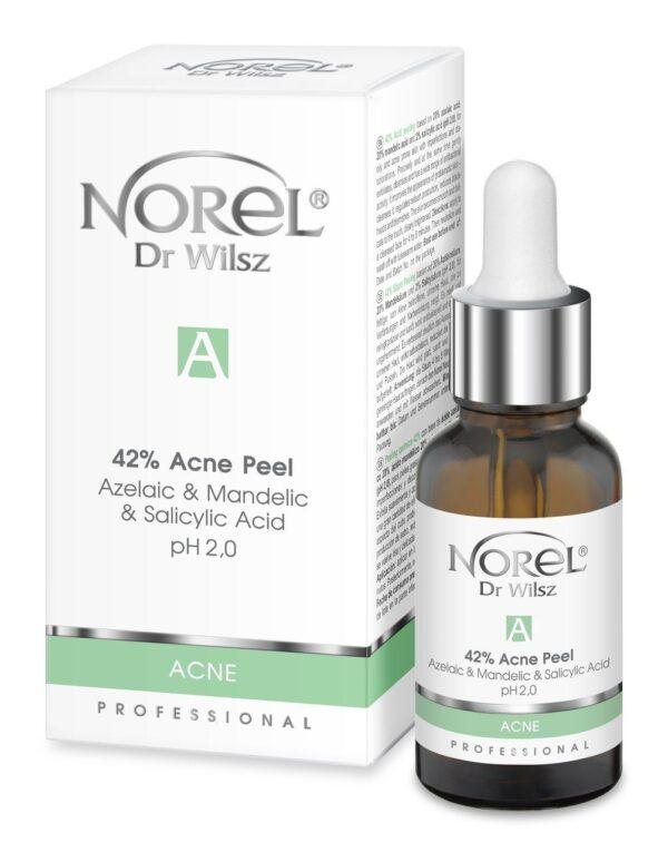 Пилинг для кожи с акне, с азелаиновой, миндальной, салициловой кислотами/42% Acne Peel - Azelaic & Mandelic & Salicylic Acid