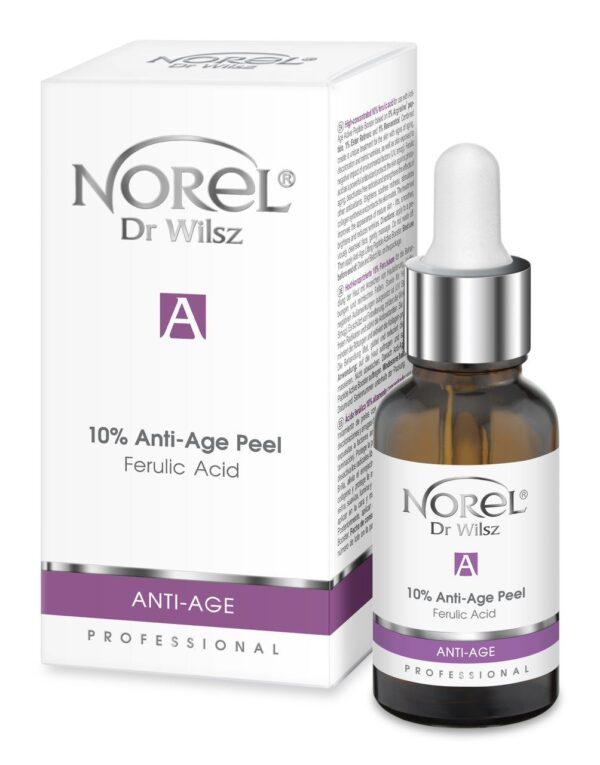 Анти-эйдж пилинг с эффектом Botox с феруловой кислотой и нейропептидом Norel Glow Skin Anti-Age Peel Ferulic Acid