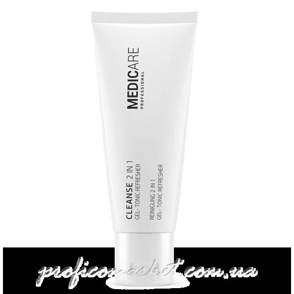 Освежающий Очищающий гель-тоник Medicare Cleanse 2in1 Gel-Tonic Refresher