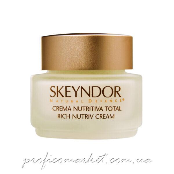 Обогащенный питательный крем Skeyndor Natural Defence Rich Nutriv Cream