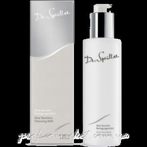 Очищающая эмульсия для чувствительной сухой кожи Dr. Spiller Aloe Sensitive Cleansing Milk