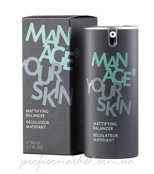 Матирующий флюид для лица для мужчин Dr.Spiller Manage Your Skin Mattifiying Balancer