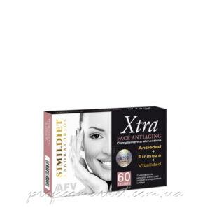 Пищевая добавка для борьбы с возрастными изменениями кожи Simildiet Face Antiaging Tablets XTRA