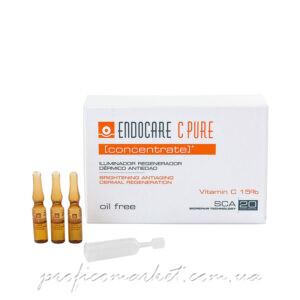 Регенерирующий омолаживающий осветляющий концентрат с витамином С Cantabria labs ENDOCARE C Pure Concentrate Brightening Antiaging Dermal Regenaration