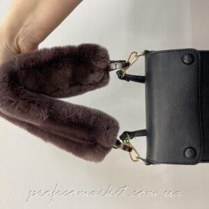 Ремень к сумке из натурального меха рекс