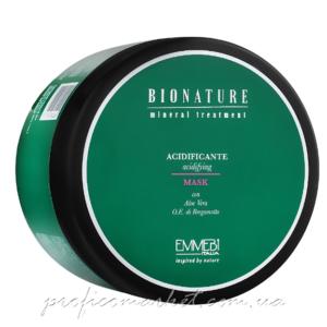 Кислая маска для волос Emmebi Italia BioNatural Mineral Treatment Acidifying Mask 500мл