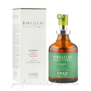 Лосьон против алопеции с маслом чайного дерева Emmebi Italia BioNatural Mineral Treatment Alopecia Lotion
