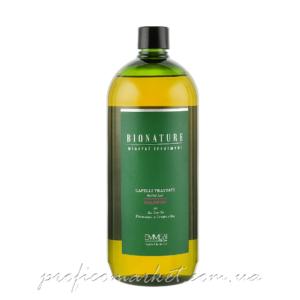 Шампунь для повреждённых волос с маслом чайного дерева Emmebi Italia BioNatural Mineral Treatment Treated Hair Shampoo 1л