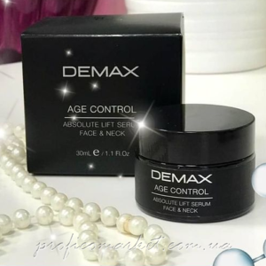 ЛИФТИНГ-СЫВОРОТКА ДЛЯ ЛИЦА И ШЕИ Demax AGE CONTROL  ABSOLUTE LIFT SERUM FACE & NECK