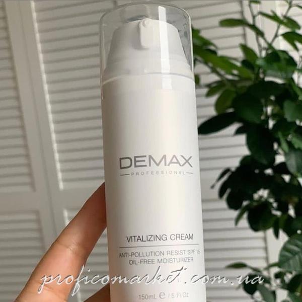 Крем виталайзер 15 DEMAX Vitalizing Cream OIL-FREE SPF 150мл