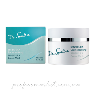 Восстанавливающая и успокаивающая маска для гиперчувствительной кожи Dr. Spiller SENSICURA Cream Mask