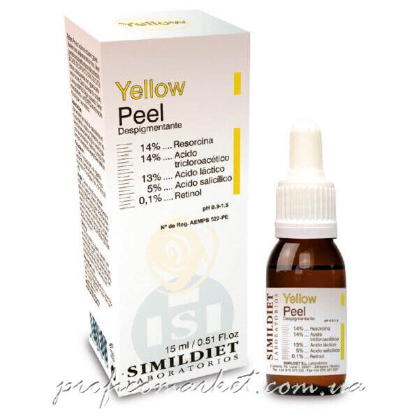 Желтый срединный пилинг Simildiet Yellow Peel