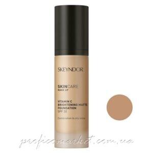 Матирующая основа для макияжа с витамином С SPF30 тон 02 Skeyndor Skincare Make Up Vitamin C Brightening Matte Foundation SPF 30 02
