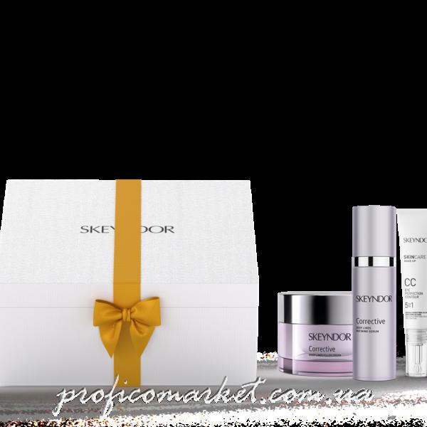 Подарочный набор Магическое преображение для сухой кожи Крем Skeyndor CORRECTIVE kit
