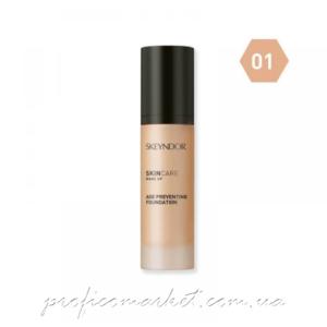 Антивозрастная тональная основа для макияжа тон 01 Skeyndor Age Preventing Foundation