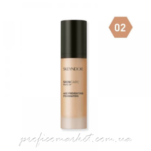 Антивозрастная тональная основа для макияжа тон 02 Skeyndor Age Preventing Foundation