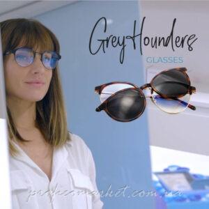 Солнцезащитные очки 2в1 BLUE LIGHT HABANA от GREY HOUNDERS